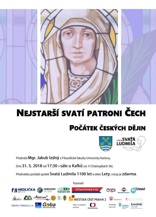 Nejstarší svatí patroni Čech