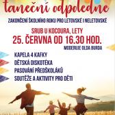 Tanečnní odpoledne u Srubu